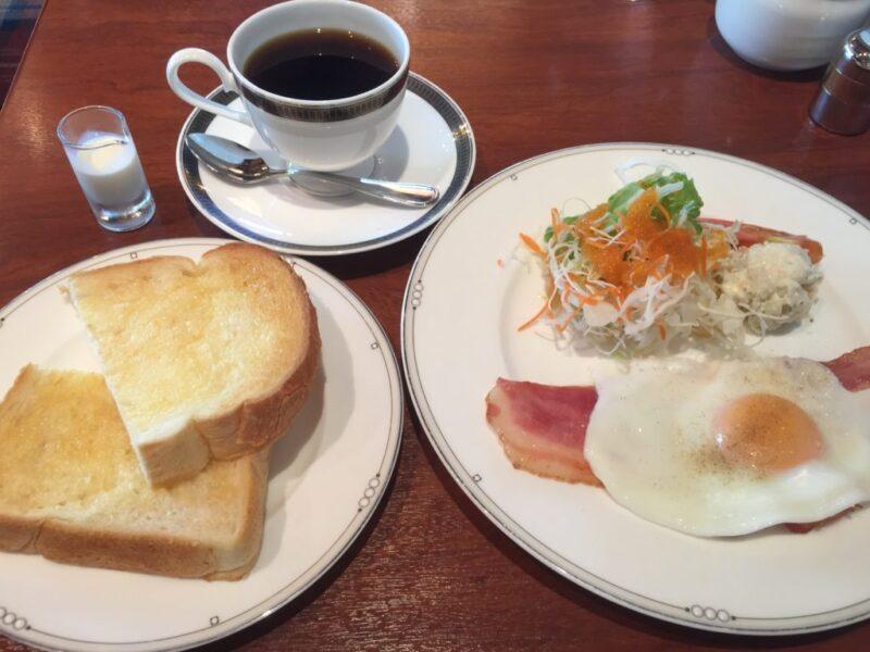 倉敷二子カフェ『木々珈琲舎』朝食ホテルモーニングとホットコーヒー!