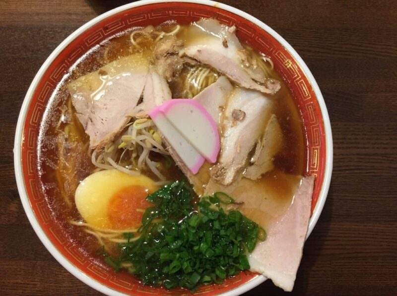 倉敷西中新田『中華蕎麦かたやま』行列の天神そばのラーメンが食べられる!