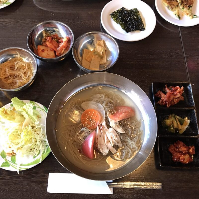 倉敷中庄『コリアン食堂YUPA(ユパ)』韓国料理おかず食べ放題定食ランチ!
