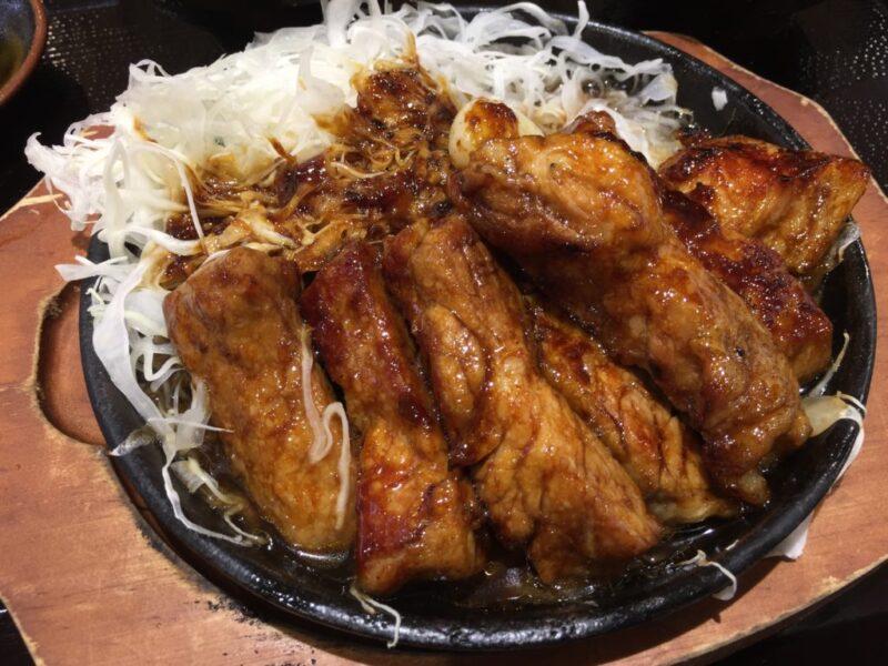 イオン倉敷フードコート『豚屋とん一』熟成豚のかつ丼とトンテキ定食!
