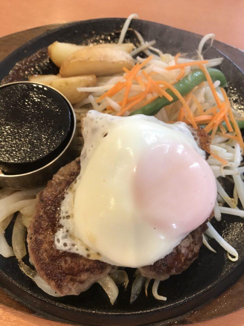 岡山大供『肉のはせ川』ハンバーグ&ステーキでご飯食べ放題ランチ!
