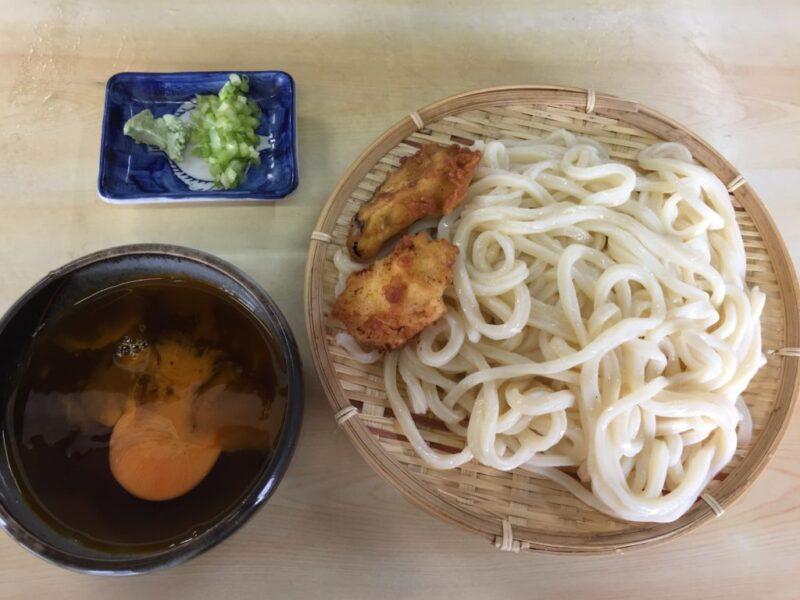 岡山東古松『手打ち泰平うどん』天ぷらざるうどんとうどん定食ランチ!