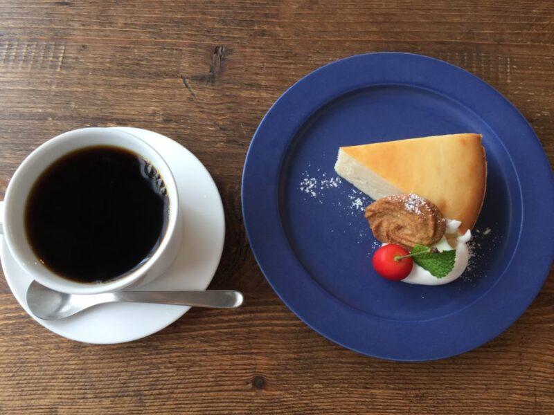 香川丸亀カフェ『三月の豆cafe』特製コーヒーゼリーとベイクドチーズケーキ!