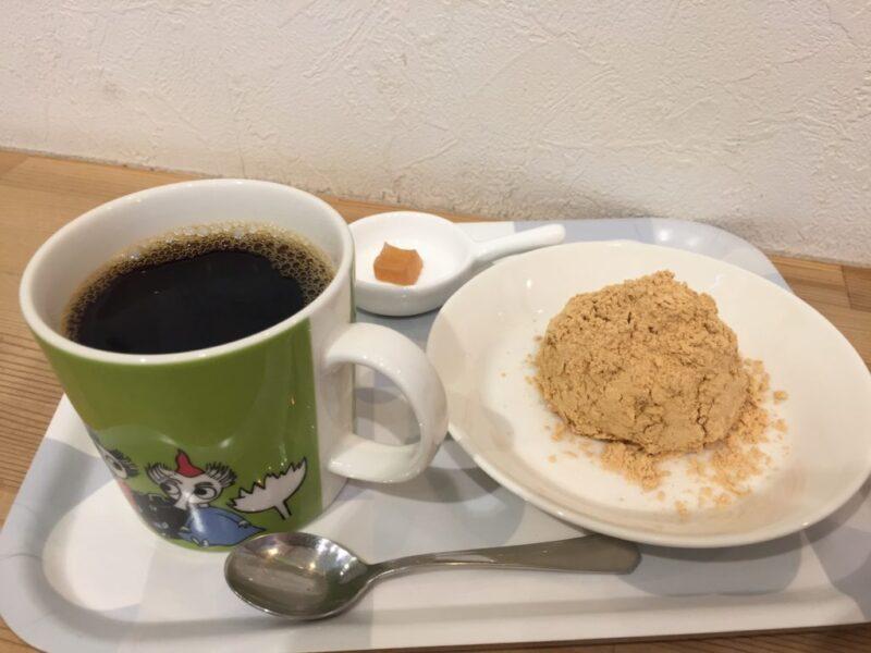 香川高松カフェ『プシプシーナ珈琲』自家焙煎コーヒーとおはぎ!