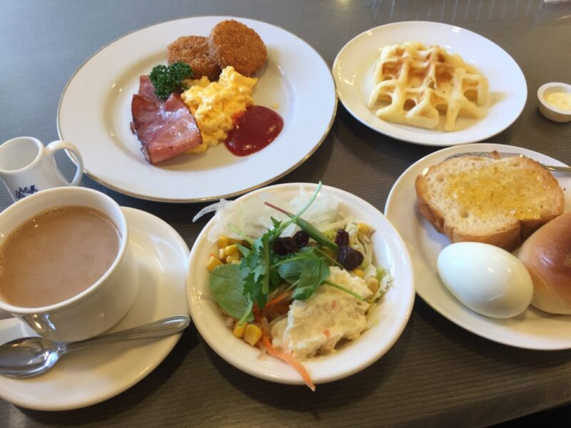 倉敷中庄『レスト&カフェCATY(キャティ)』超豪華サラダバー朝食モーニング!