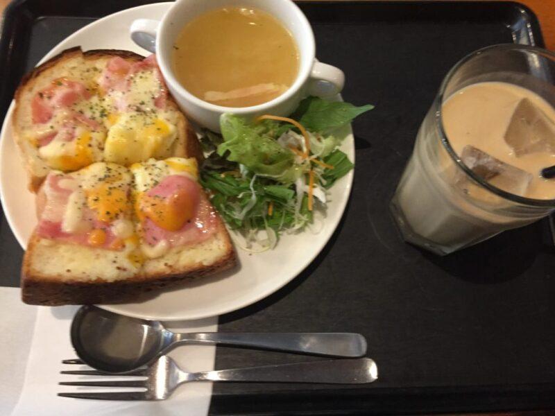 岡山問屋町カフェ『オンサヤコーヒー』朝食モーニングとチーズケーキ!