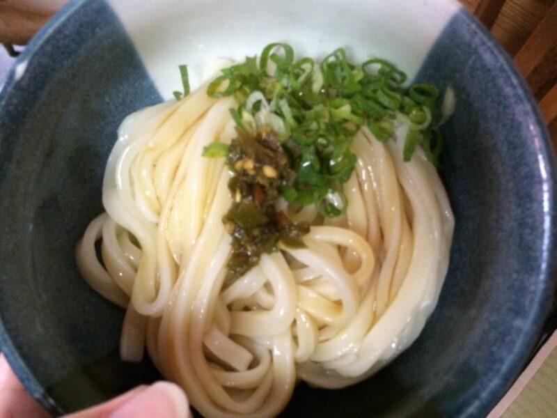 香川まんのう町『谷川米穀店』米屋が作る激辛唐辛子の醤油うどん!