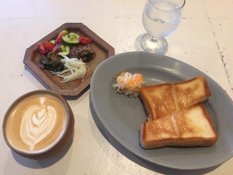 岡山大供カフェ『ザコーヒーハウス』備前焼でオシャレ朝食モーニング!