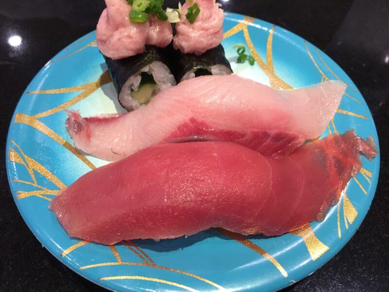 イオン倉敷『廻鮮寿司しまなみ』100円じゃない豪華な回転寿司ランチ!