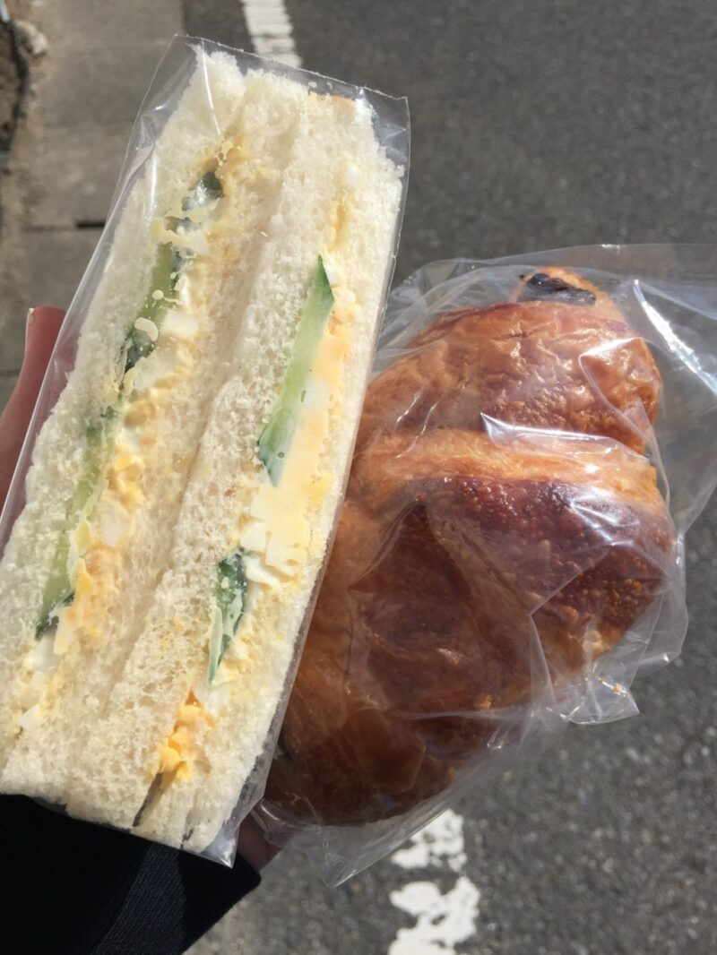 倉敷日ノ出町『メヌエット』焼きたてパンとバースデーケーキ!