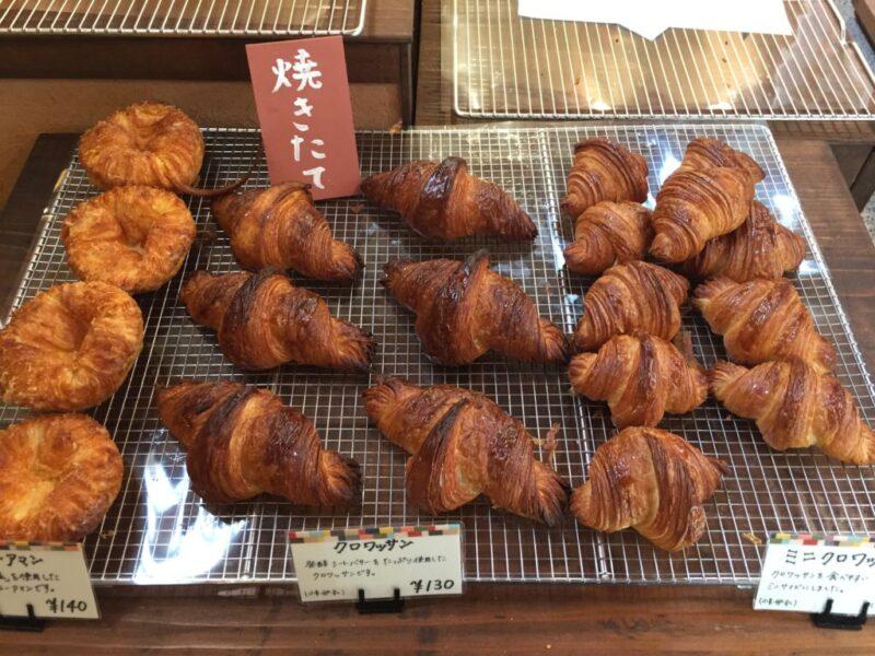 倉敷福田町『ラ・セゾン(La.saison)』古民家パン屋の焼きたてクロワッサン!