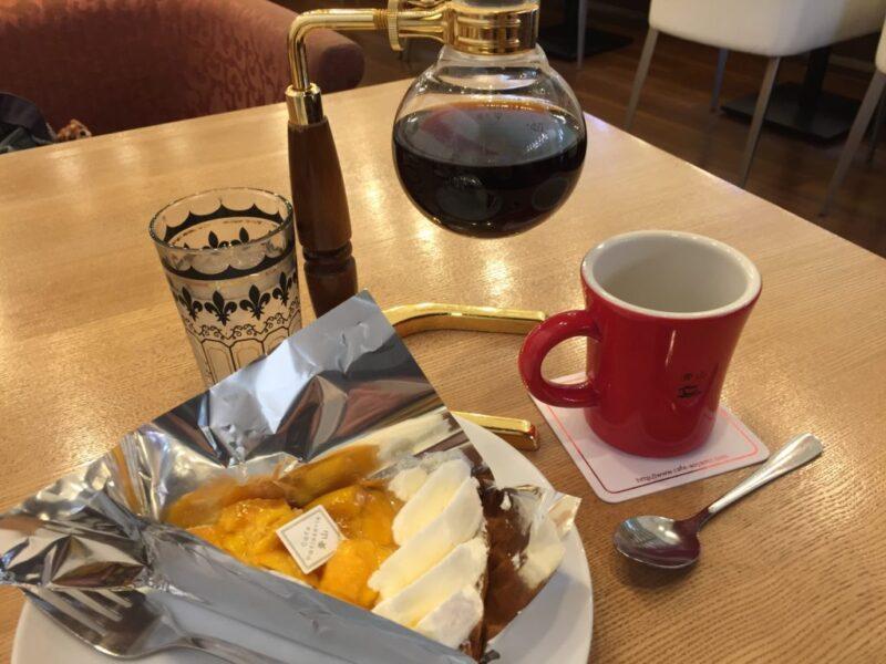 倉敷中庄『カフェ青山』ランチとディナーの間のおやつにフルーツタルト!