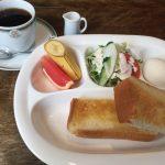 倉敷老松カフェ『山城軽食喫茶』パン&ケーキでモーニング!