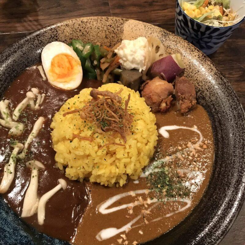 倉敷駅前『倉敷カレー』野菜ソムリエが作るスナック間借りスパイスカレー!