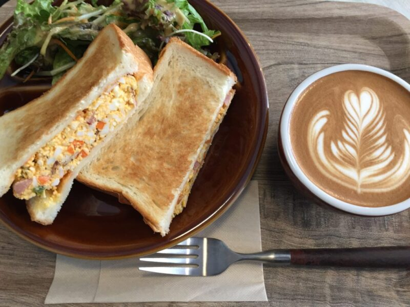 岡山丸の内カフェ『ジョーズコーヒー』玉子サンドイッチモーニング!