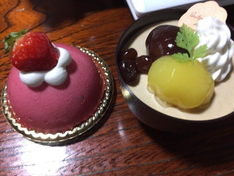 岡山西古松『ナチュレ』シフォンケーキ200円とショートケーキ300円!