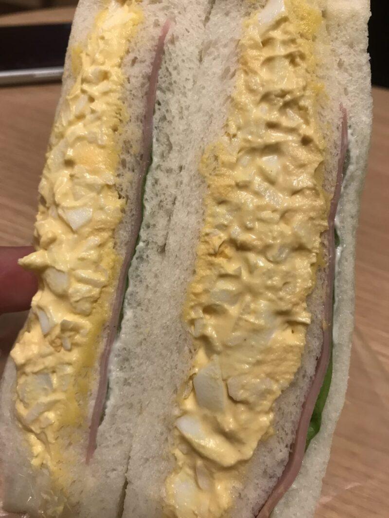 北海道札幌『サンドリア』24時間営業の手作りサンドイッチ店の卵サンド!