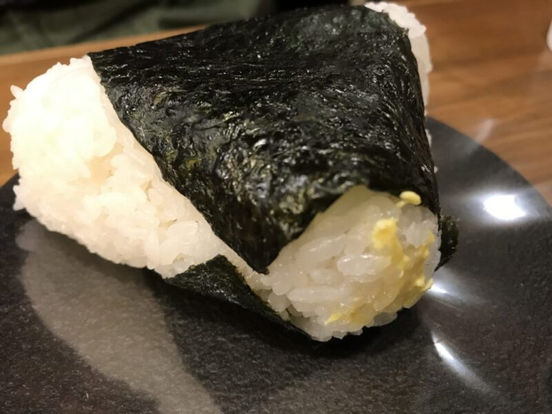 北海道札幌駅『おにぎりのありんこ』チーズおかかと豚汁朝食モーニング!