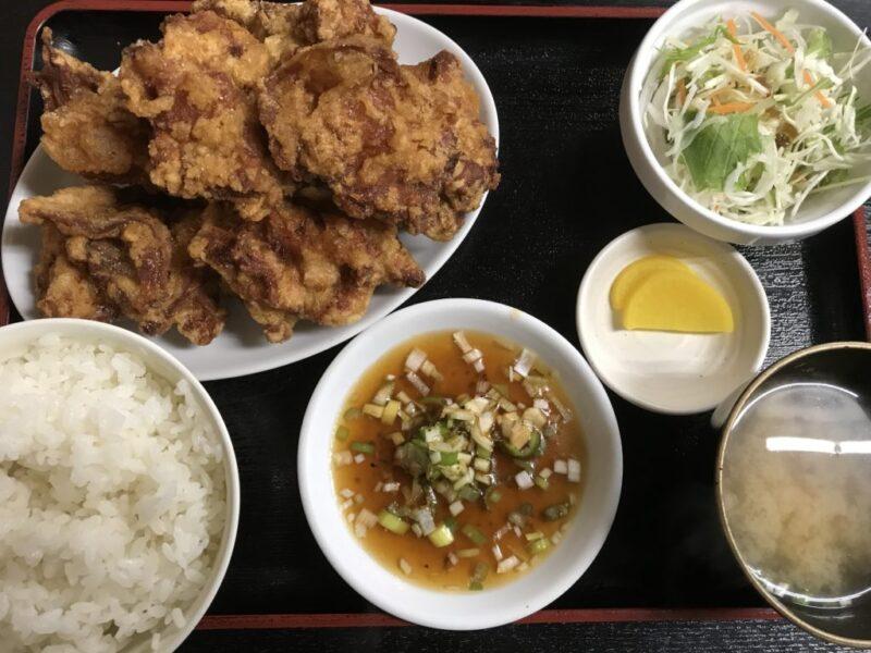 北海道札幌『中国料理 布袋』麻婆豆腐と鶏の唐揚げのザンギ定食ランチ!