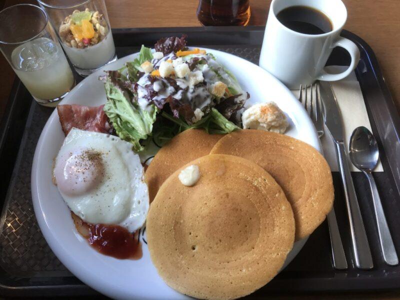 岡山問屋町カフェ『ディシェル(DESCHL)』目玉焼きパンケーキでモーニング!