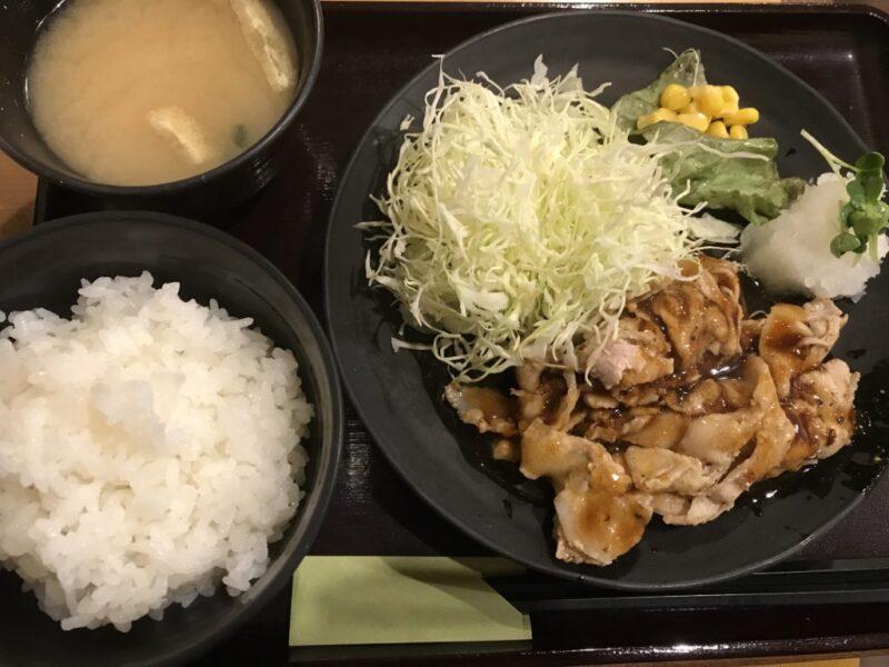 香川高松兵庫町『まいしょく家』安くて美味しいガッツリ豚焼肉定食!
