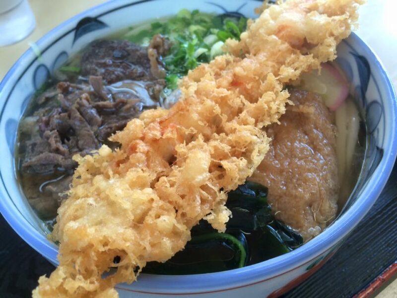 倉敷児島『いしはるうどん』ジュワーっと音がする揚げたて天ぷらうどん!