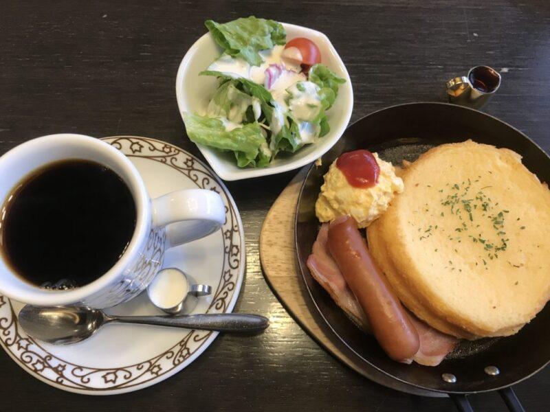 倉敷新田カフェ『元町珈琲倉敷の離れ』朝食モーニングでフレンチトースト!