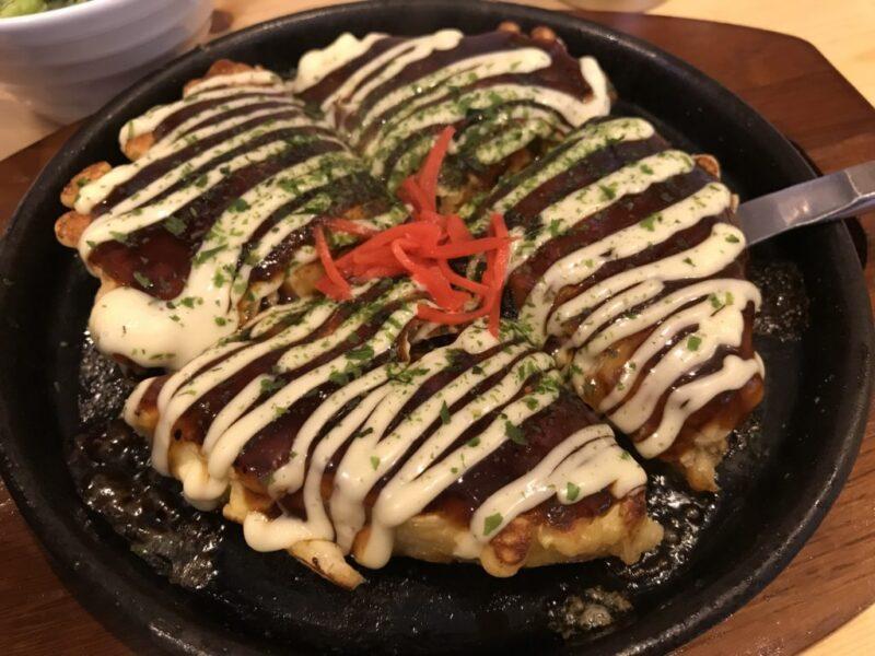 倉敷駅前『鉄板ダイニングDADACCO(だだっこ)』お好み焼きと白飯ランチ!