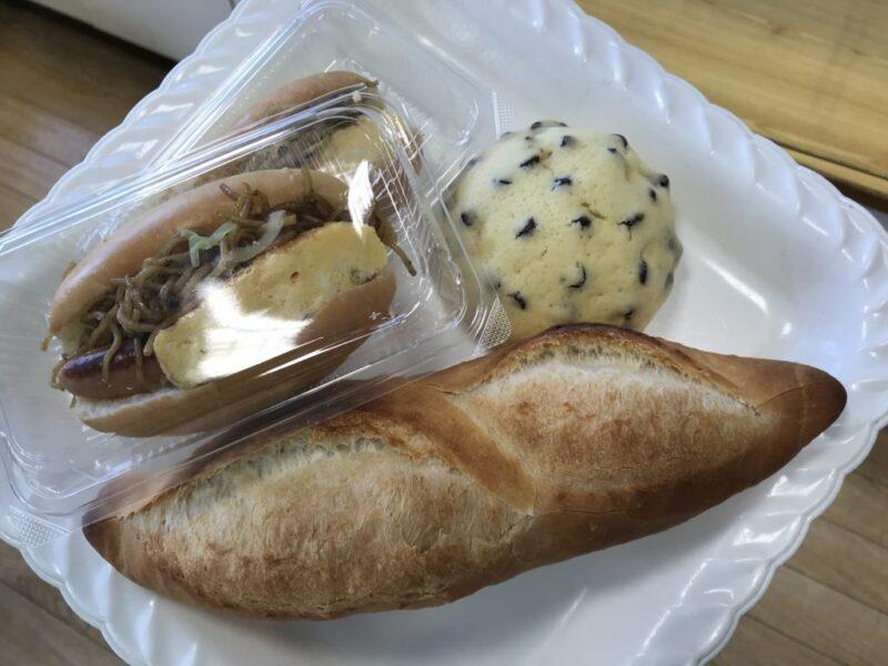 倉敷茶屋町パン屋『ぱん屋』玉子焼きとウィンナーの焼きそばパン!