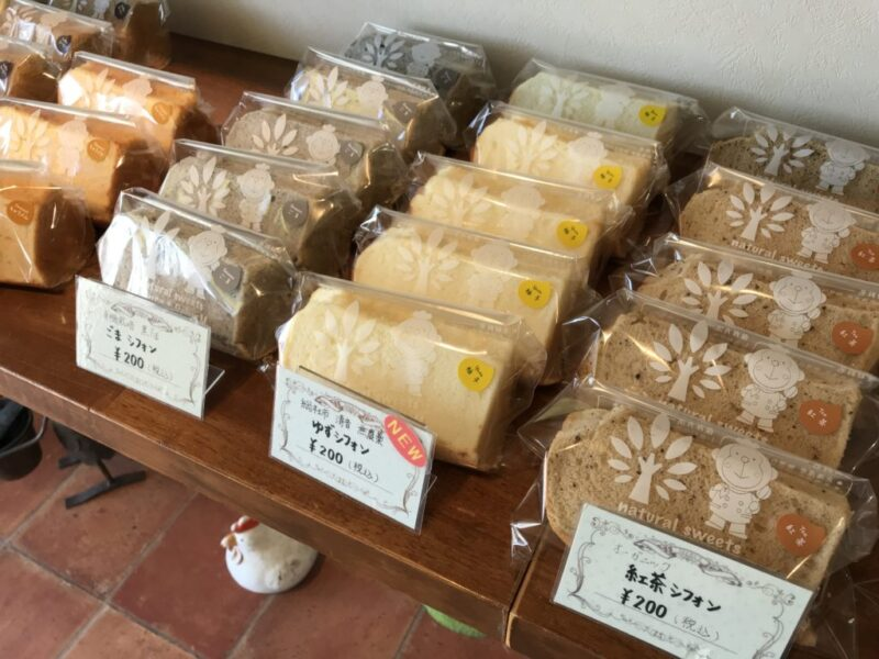 岡山中畦『ベーカーエム』添加物不使用のふわっふわシフォンケーキ!