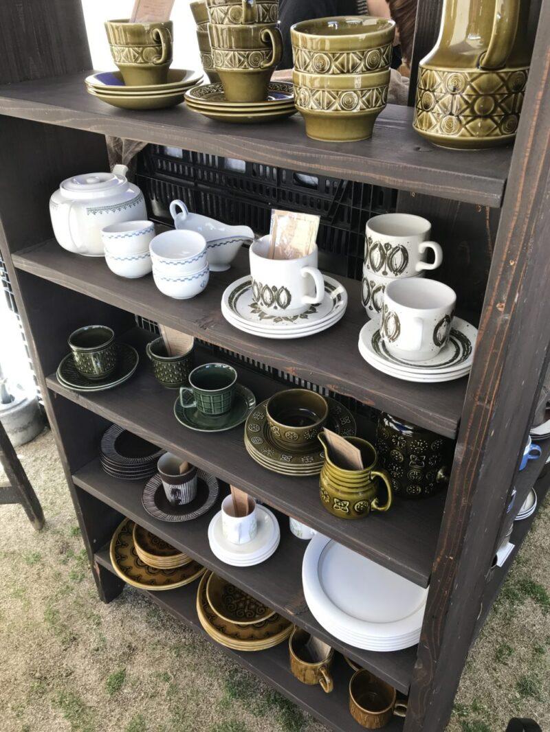 アリオ倉敷『アンティークノミノイチ』雑貨屋とパン屋が集まる蚤の市!