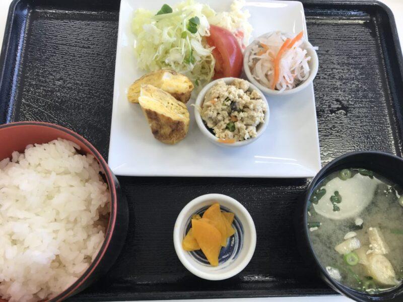 倉敷平成病院カフェ『スマイルキッチン』和朝食モーニングが嬉しい!