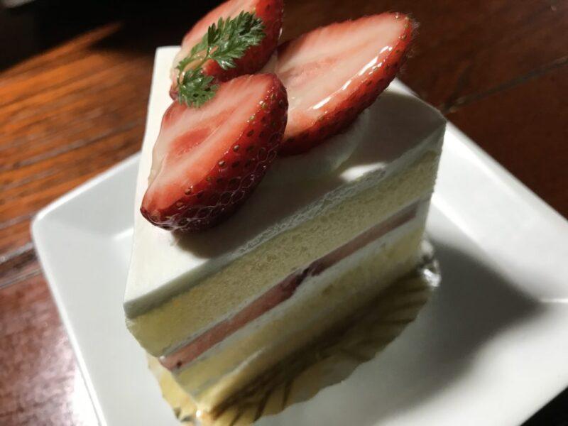 倉敷八王寺『プティブーレ』フォンダンショコラと苺ショートケーキ!