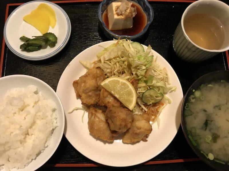 倉敷駅前『喜久味本店』うなぎもいいけどランチは唐揚げ定食がお得!