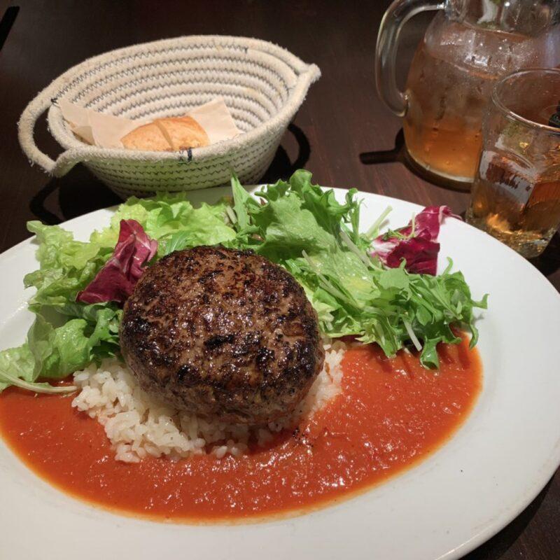 東京浜松町『レピフエドディーヌ』ミシュランのハンバーグランチ!