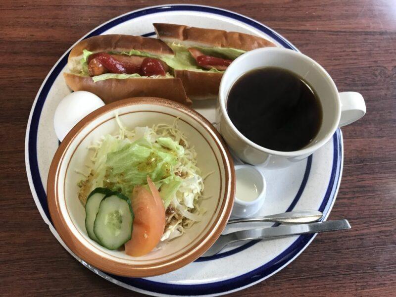 倉敷老松『コロンバン』居心地のいい喫茶店でホットドッグモーニング!