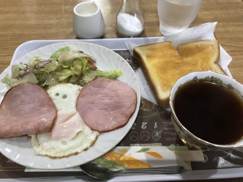 倉敷酒津『喫茶せき』老舗純喫茶で朝食モーニングは嬉しいハムエッグ!