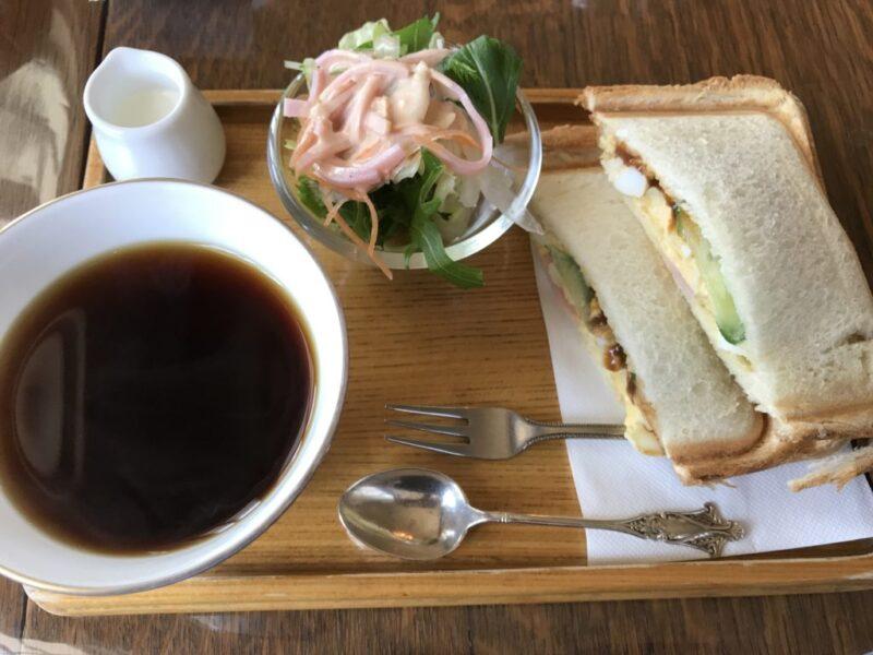 倉敷中島喫茶店『フィフスアベニュー』コンチネンタルな朝食モーニング!