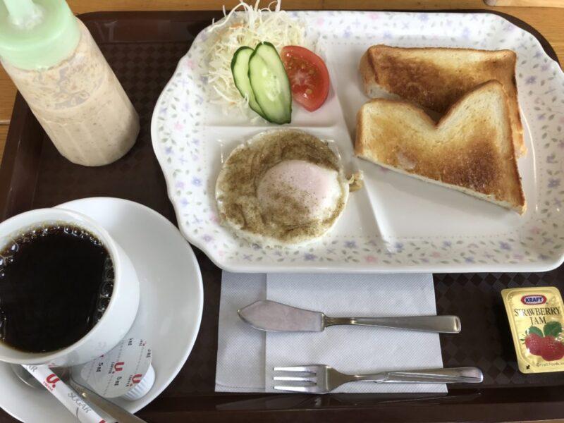倉敷商工会議所カフェ『ほっとたいむ』目玉焼きが嬉しい朝食モーニング!