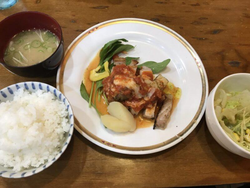 倉敷駅ビル地下『洋食れんが屋』鶏の唐揚げ定食と日替わりランチ!