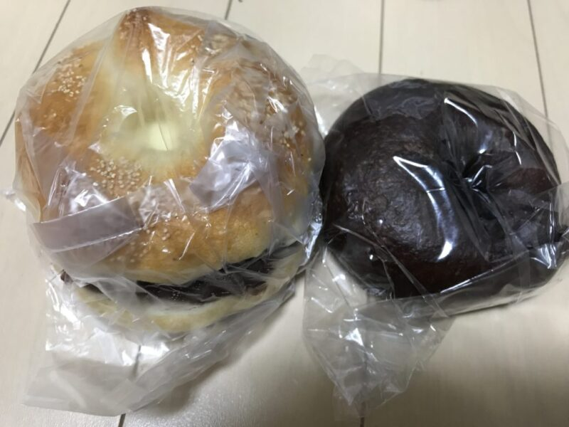 香川高松『ぱん屋Guuu(グー)』天然酵母のあんバターベーグルサンド!