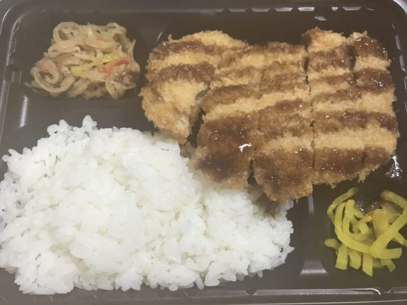 香川高松『ゆうちゃん弁当』とんかつ弁当も鶏のから揚げ弁当も330円!