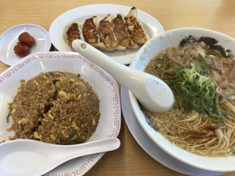 倉敷笹沖『来来亭』ラーメンもチャーハンも餃子も何を食べても美味しい!
