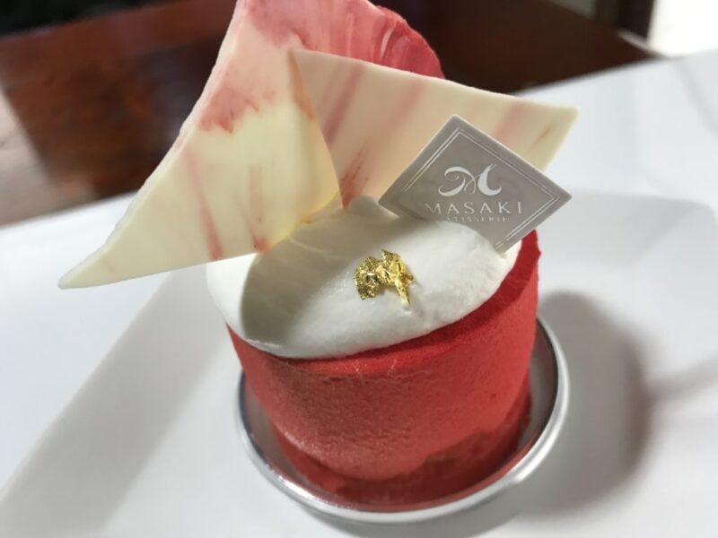 倉敷三田『パティスリーマサキ』チョコと杏の世界大会受賞ケーキ!