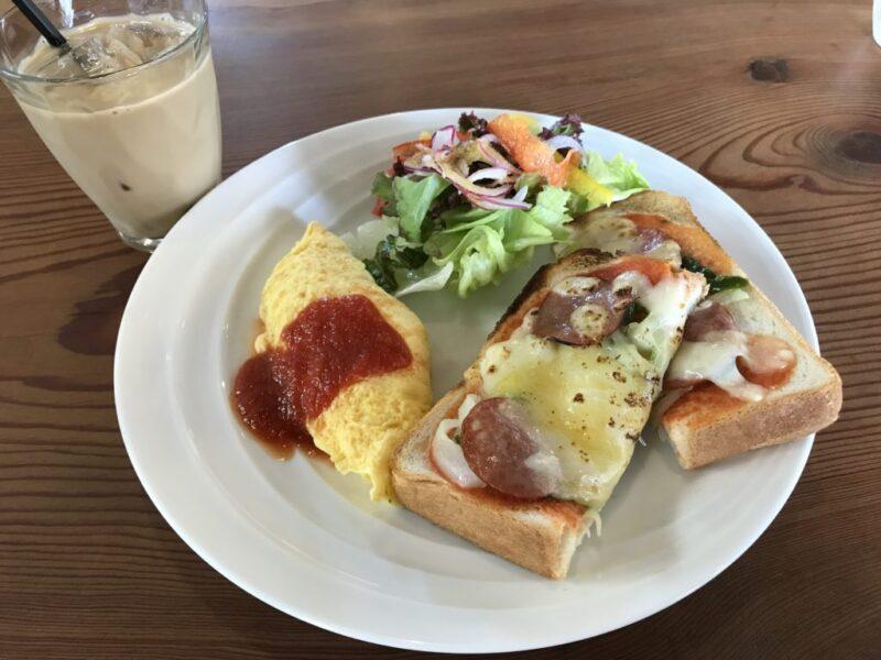 倉敷中島『クッチーナ•LIFE』イタリアンのピザトーストモーニング!