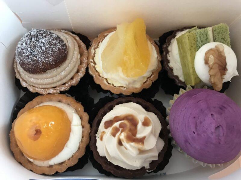 倉敷沖新町『スイーツの実』小さくて可愛い一口サイズのタルトとケーキ!