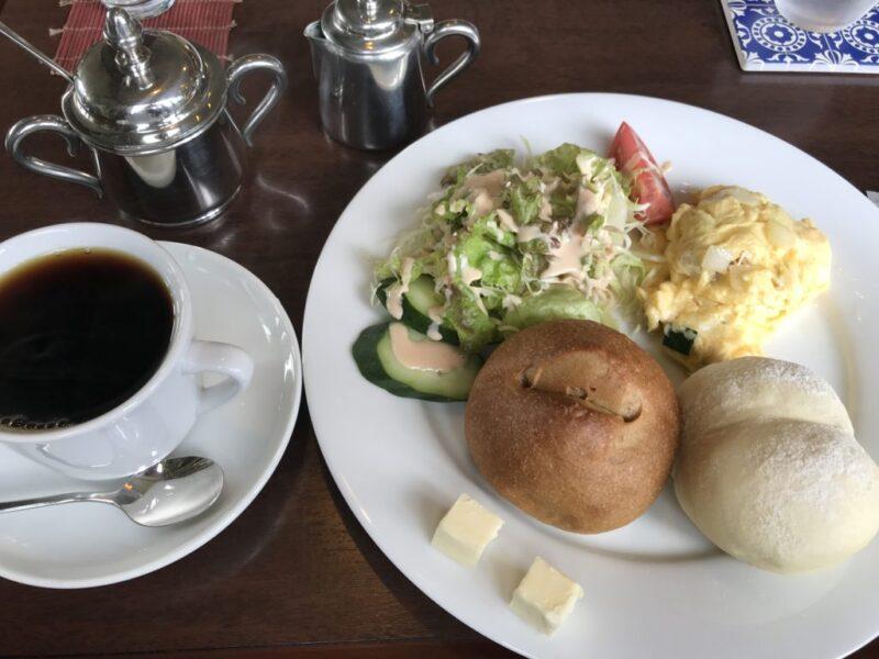 岡山北方『キャナルカフェ』自家製パンと淹れたてコーヒー朝食モーニング!