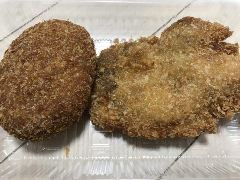 岡山北方『天麩羅の店松木』味付けスパイシーなメンチカツとチキンカツ!