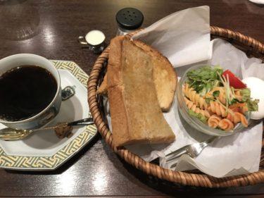 倉敷天満屋『小田珈琲館』百貨店の落ち着いた喫茶店で朝食モーニング!