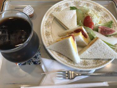 岡山白石『喫茶ざおう』オムレツサンドイッチ朝食モーニングとコーヒー!